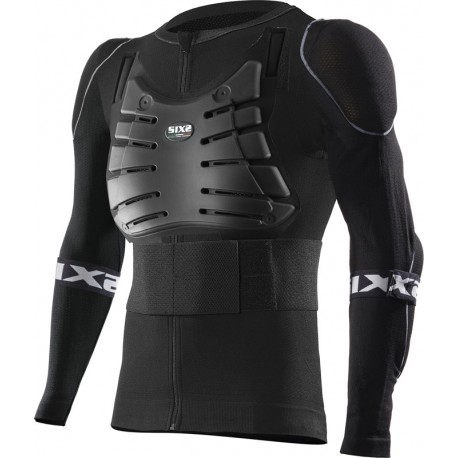 Long-Sleeve Protective Jersey with all protections