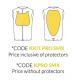 Smanicato protettivo Kids Carbon Underwear con paraschiena e pettorina