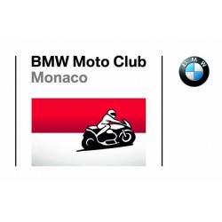 Official sticker of BMW Moto Club Monaco