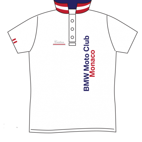 BMW Moto-Club Monaco Polo Insert
