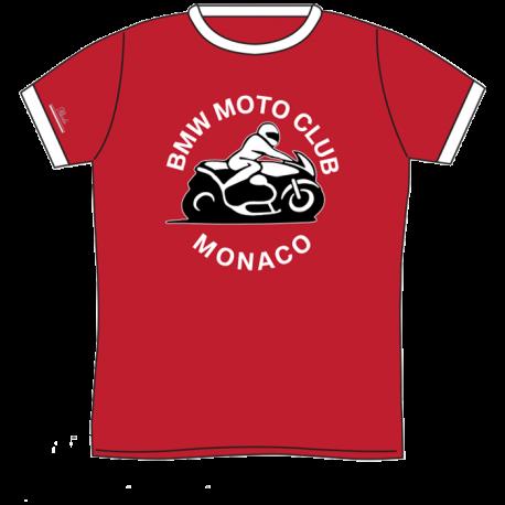 BMW Moto-Club Monaco T-Shirt Insert Red