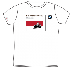 BMW Moto-Club Monaco T-Shirt Base