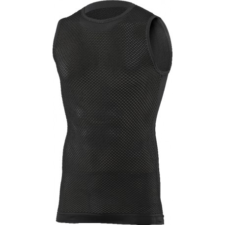 MESH SLEEVELESS JERSEY WITH BACK PROTECTOR