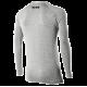 TS2 - Girocollo maniche lunghe Carbon Merinos Wool