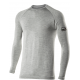 TS2 – Long-sleeve Round Neck Carbon Merinos Wool Jersey