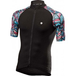 FANCY JERSEY - CARBON ACTIVEWEAR PRINTED BIKE JERSEY