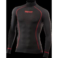 TS13W CU - Underwear warm turtleneck With zipper